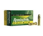 Remington Golden Bullet 22 Long Rifle Ammo 36 Grain Plated Lead HP
