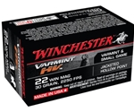 Winchester Varmint HV 22 WMR 30 Grain JHP