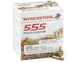Winchester 22 Long Rifle 36 Grain Plated Lead Hollow Point 555 Round Box