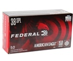 Federal American Eagle 38 Special 158 Grain Lead Round Nose