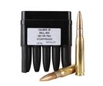 Barrett 50 BMG Ammo 661 Grain M33 Full Metal Jacket Steel Core