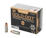 Speer Gold Dot 25 ACP AUTO Ammo 35 Grain Jacketed Hollow Point