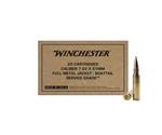 Winchester 7.62x51 NATO Ammo 147 Grain FMJBT