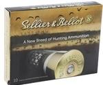"Sellier & Bellot 12 Gauge 2-3/4"" Ammo #4 Buckshot 21 Pellets"