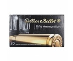 Sellier & Bellot 222 Remington Ammo 50 Grain Soft Point