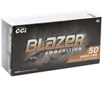 CCI Blazer Brass 38 Special Ammo 125 Grain Full Metal Jacket
