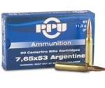 Prvi Partizan 7.65mm Argentine Mauser Ammo 180 Grain Soft Point