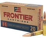 Frontier Cartridge Military Grade 300 AAC Blackout Ammo 125 Grain Hornady Full Metal Jacket