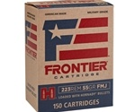 Frontier Cartridge 223 Remington Ammo 55 Grain Hornady Soft Point