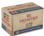 Frontier Cartridge 223 Remington Ammo 55 Grain Hornady HP Match