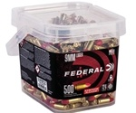 Federal 9mm Luger Ammo 124 Grain Syntech TSJ 500 Round Bucket