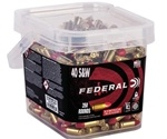 Federal 40 S&W Ammo 165 Grain Syntech TSJ 350 Round Box