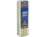 CCI Clean 22 Long Rifle Subsonic Ammo 40 Grain Poly Coated Blue LRN