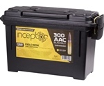 Inceptor Sport Utility 300 AAC Blackout Ammo 88 Grain SRR Frangible Can of 500  Rounds