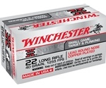 Winchester Super-X 22 Long Rifle 40 Grain HV Plated LRN