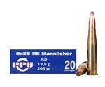 Prvi Partizan 8x56mm R Mannlicher-Schoenauer 208 Grain Soft Point