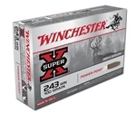 Winchester Super-X 243 Winchester 100 Grain Power-Point