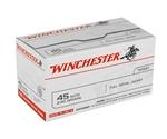 Winchester USA 45 ACP AUTO 230 Grain FMJ VP