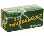 Remington Thunderbolt 22 Long Rifle 40 Grain Lead Round Nose