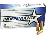 Independence 357 Magnum Ammo 158 Grain Jacketed Soft Point