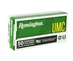 Remington UMC 40 S&W Ammo 180 Grain Full Metal Jacket