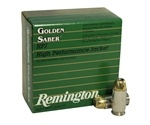Remington Golden Saber 45 ACP AUTO Ammo 185 Grain +P Brass JHP