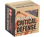 Hornady Critical Defense 38 Special Ammo +P 110 Gr FTX