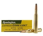Remington Express 270 Winchester 150 Grain Core-Lokt Soft Point