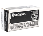 Remington Golden Saber 38 Special Ammo 125 Grain +P Brass JHP