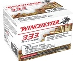 Winchester 22 Long Rifle 36 Grain Plated Lead Hollow Point 333 Round Box
