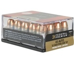 Federal Personal Defense 45 ACP AUTO Ammo 165 Grain Hydra-Shok Jacketed Hollow Point
