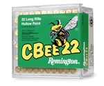 Remington CBee 22 Long Rifle Ammo 33 Grain Hollow Point