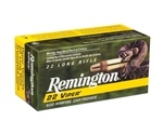 Remington Viper Hyper Velocity 22 LR 36 Gr. Plated Truncated Cone