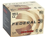 Federal AutoMatch 22 LR 40 Grain Lead Round Nose