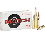 Hornady Match 6.5 Creedmoor Ammo 120 Grain A-Max Boat Tail