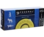 Federal Power-Shok 223 Remington Ammo 64 Grain Jacketed Soft Point