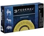 Federal Power-Shok 6mm Remington Ammo 100 Grain SP