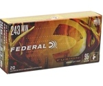 Federal Fusion 243 Winchester Ammo 95 Grain SP