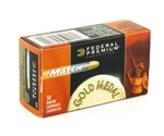 Federal Gold Medal Match 22 Long Rifle Ammo 40 Grain Lead Round Nose