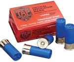"Hornady TAP 12 Gauge Ammo 2-3/4"" 00 Buckshot Blue Hull Low Recoil"