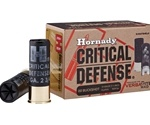 "Hornady Critical Defense 12 Gauge Ammo 2-3/4"" 00 Buckshot"