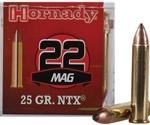 Hornady Varmint Express 22 WMR Ammo 25 Grain NTX