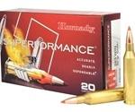 Hornady Superformance 243 Winchester Ammo 80 Grain GMX BT