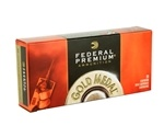 Federal Gold Metal 338 Lapua Magnum Ammo 250 Grain SMKHP
