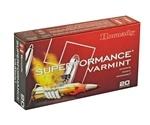Hornady Superformance 222 Remington Ammo 50 Grain V-Max