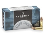 Federal Game-Shok 22 Long Rifle Ammo 40 Grain Copper Plated LRN