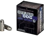 Federal Guard Dog 9mm Luger Ammo 105 Grain Full Metal Jacket
