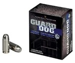 Federal Guard Dog Ammo 45 ACP AUTO 165 Grain Guard Dog Expanding
