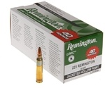 Remington UMC 223 Remington Ammo 45 Grain JHP Value Pack
