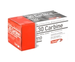 Aguila 30 Carbine Ammo 110 Grain Full Metal Jacket